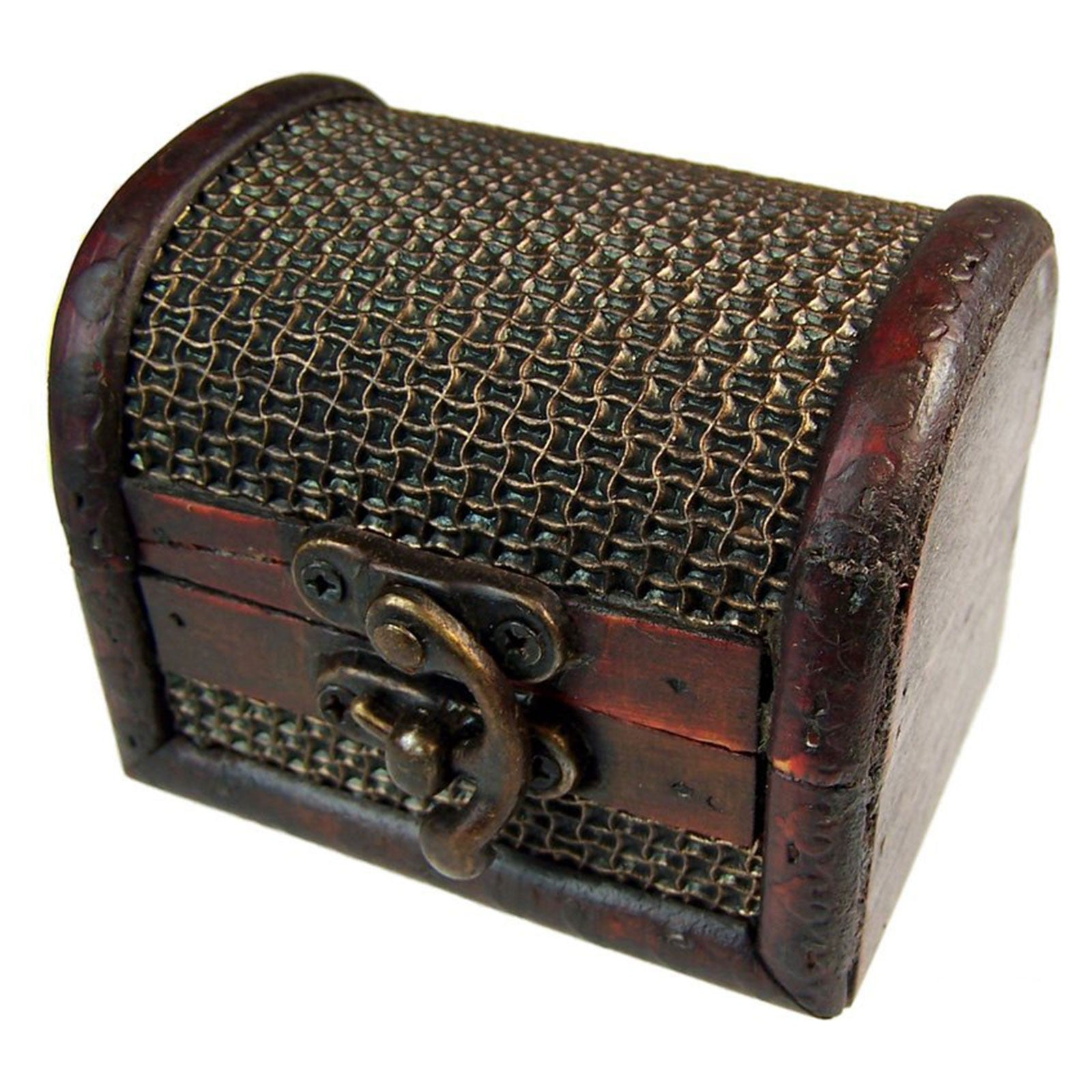 Med Colonial Boxes - Mesh Embossed, Pill Boxes by Low Cost Gifts