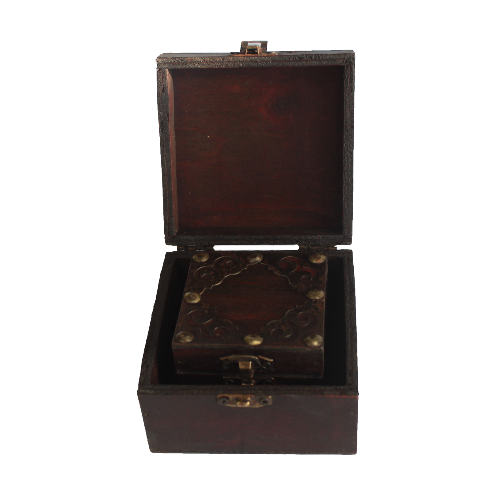 Set of 2 Gothic Square Boxes, Collectables by Low Cost Gifts