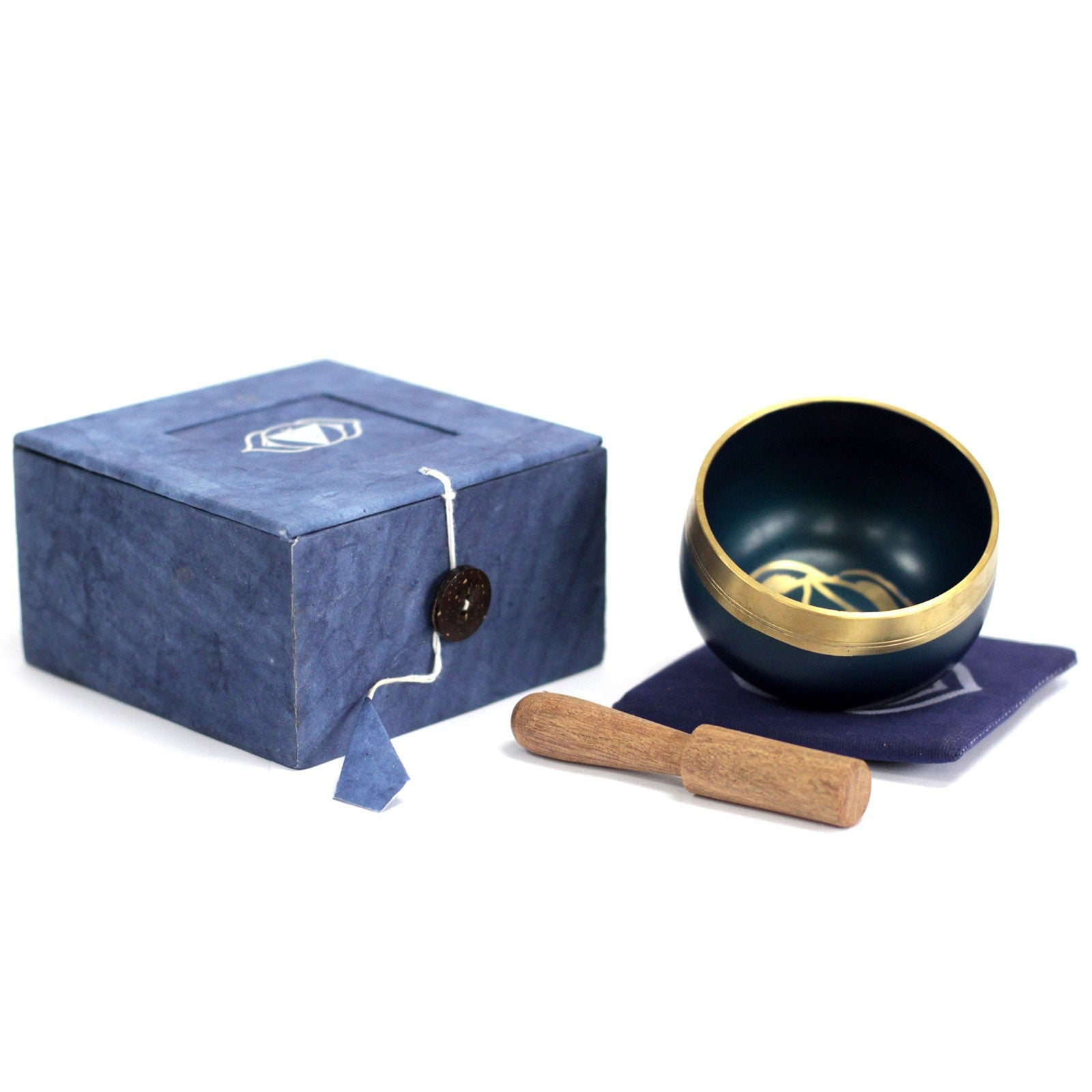 Chakra Singing Bowl - Third Eye, Musical Instrument & Orchestra Accessories by Gifts24-7