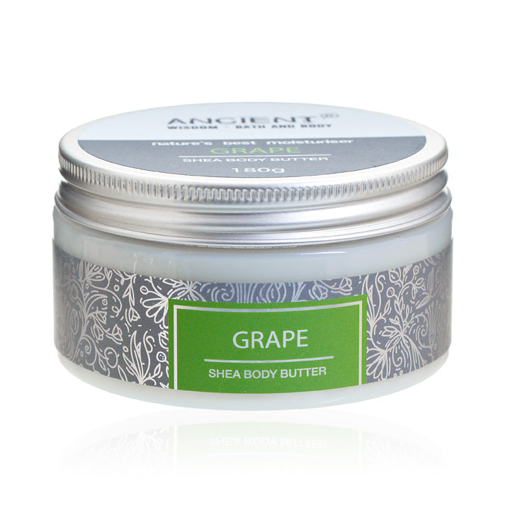 Shea Body Butter 180g - Grape, Personal Care by Low Cost Gifts