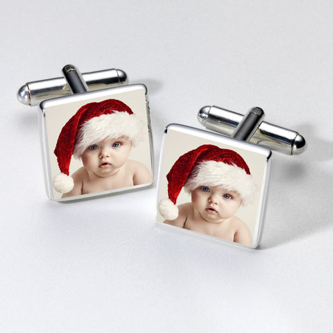 Photo Personalised Cufflinks | Gifts24-7.co.uk