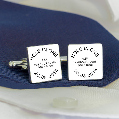HOLE IN ONE.. Cufflinks