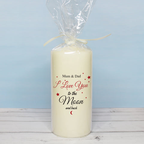 To The Moon & Back Candle