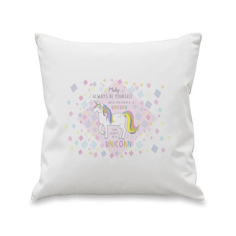 Always Be A Unicorn Cushion Cover - A perfect gift for UNICORN lovers! - Shane Todd Gifts UK