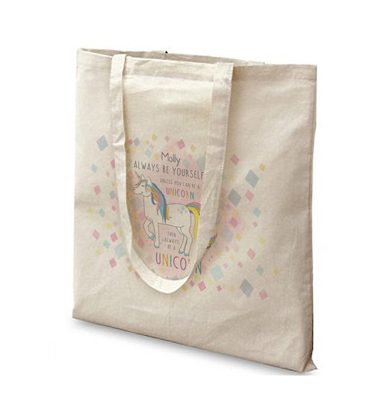 Always Be A Unicorn Tote Bag - A perfect gift for UNICORN lovers!