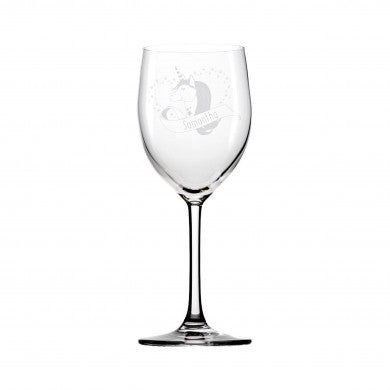 Unicorn Heart Wine Glass - A perfect gift for UNICORN lovers!