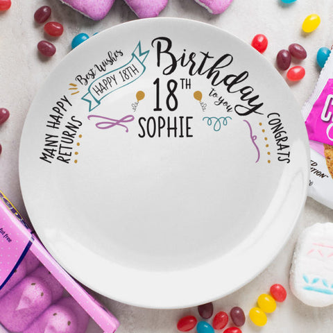Personilsed Birthday Slogan Plate