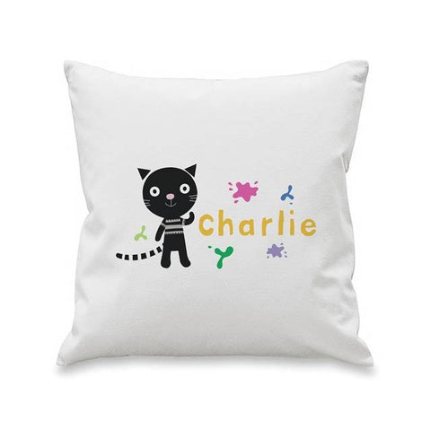 Arty Mouse Single Character Splash Cushion - 4 Designs