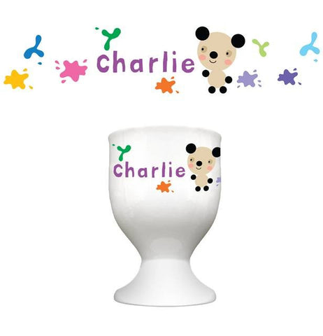 Arty Mouse Single Character Splash Egg Cup - 4 Designs