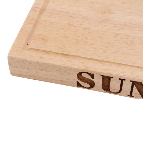 Personalised Wooden Sunday Roast Board