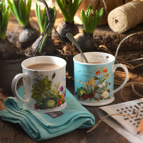 Official Royal Horticultural Society Personalised Mug Set