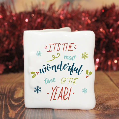 The Most Wonderful Time Of The Year Message Card