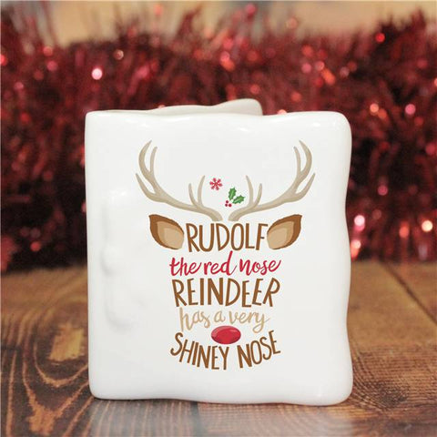 Rudolph the Red-Nosed Reindeer Message Card