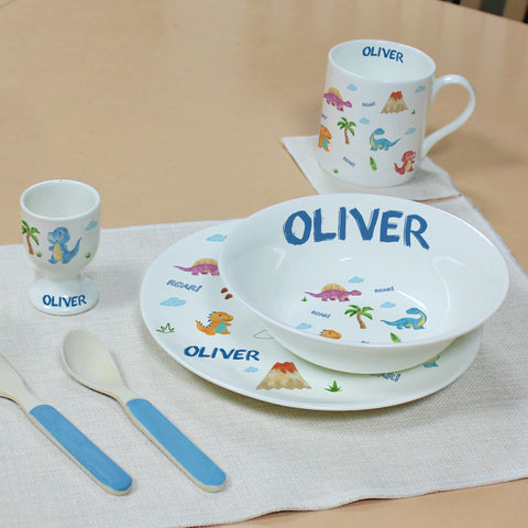 Dinosaur Breakfast Set