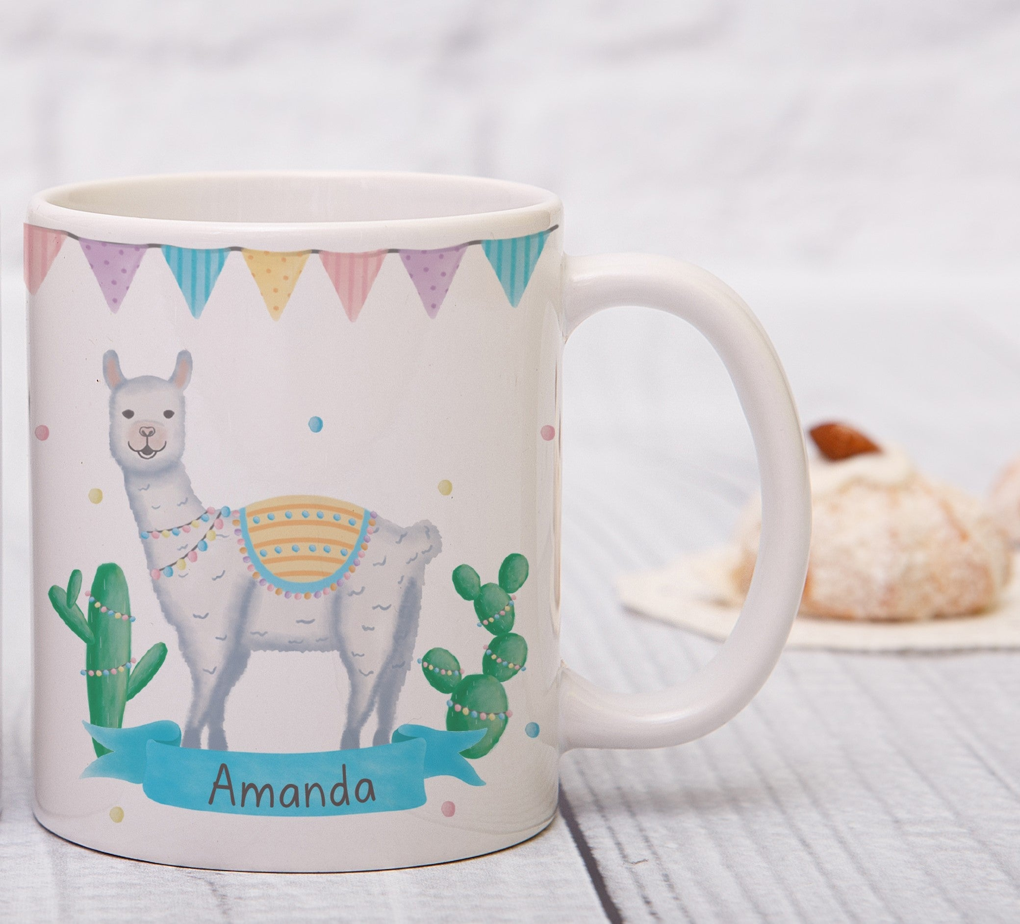 Personalised Llama Fiesta Sublimation Mug, Home & Garden by Low Cost Gifts