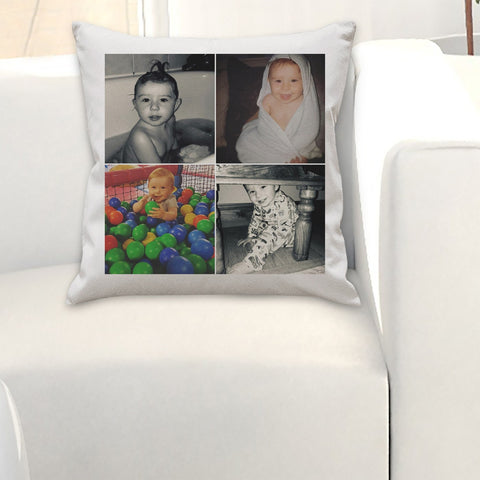 Personalised Multiple Photo Cushion