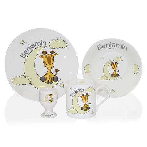 Sweet Dreams Giraffe Breakfast Set