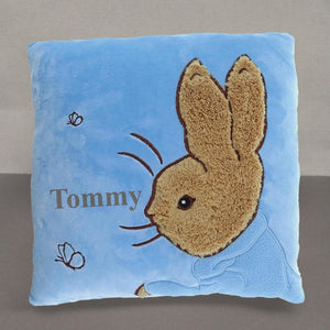 Personalised Peter Rabbit Cushion