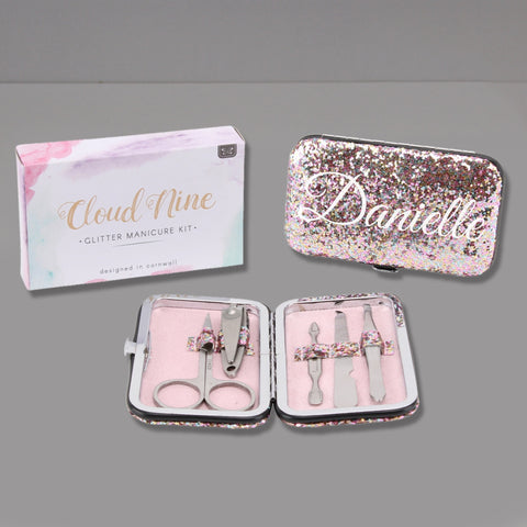 Personalised Glitter Manicure Set