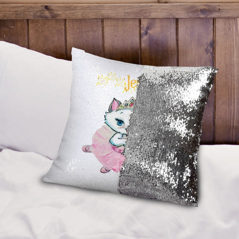 Nina Fairy Sequin Cushion