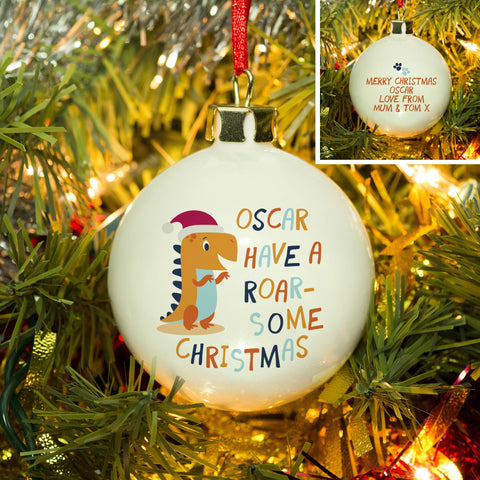 Have A Roar-Some Christmas Bauble