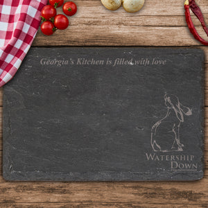 Watership Down Clover Rectangle Slate Cheese Board