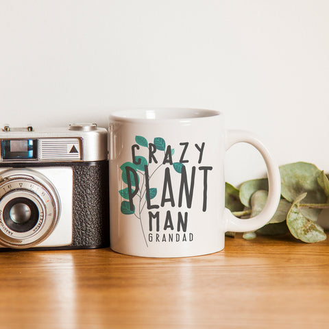 Personalised Crazy Plant Man Mug