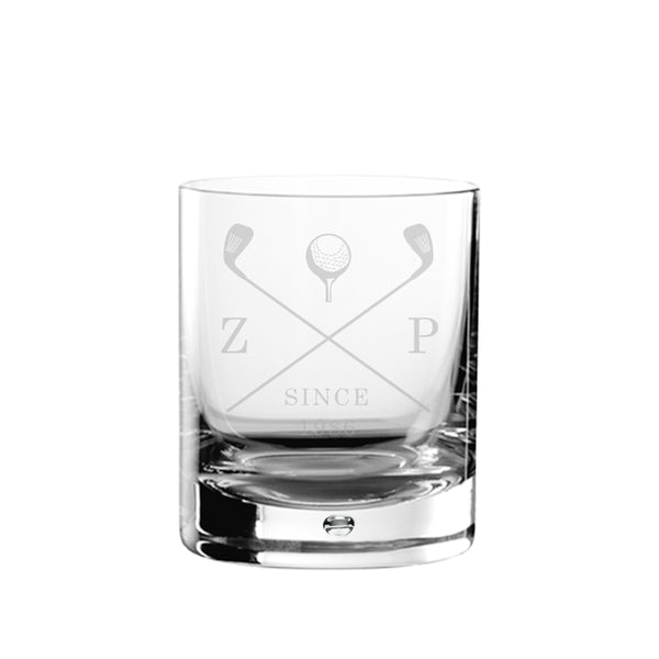 Personalised Golf Club Whisky Tumbler