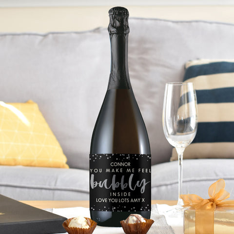 Personalised Bubbly Prosecco