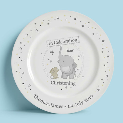 Personalised Gift Celebration 8″ Rimmed Plate