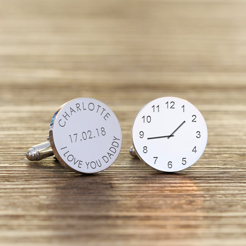 I love you Daddy Cufflinks | Gifts24-7.co.uk