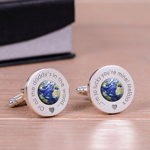 Personalised in the world...Cufflinks