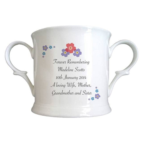 Forget Me Not Bone China Loving Cup | ShaneToddGifts.co.uk