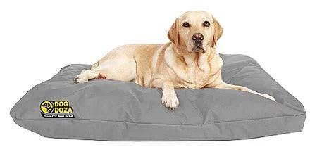 Dog Doza - Waterproof Cushion Beds - High Loft Fibre Filled Various Sizes, Dog Supplies by Low Cost Gifts