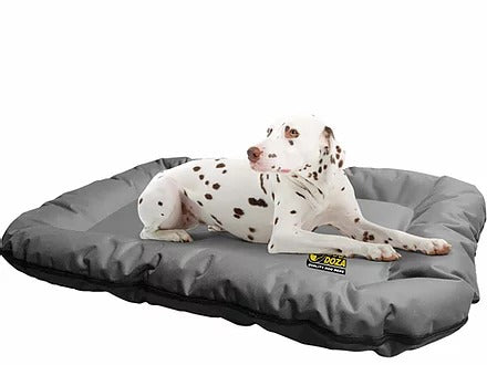 Dog Doza Dog Bolster Mat - Waterproof All Over Heavy Duty Fabric - Grey, Dog Supplies by Low Cost Gifts