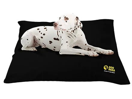 Dog Doza - Waterproof Cushion Beds - Memory Foam Granulated CRUMB - Various Sizes Black, Animals & Pet Supplies by Low Cost Gifts