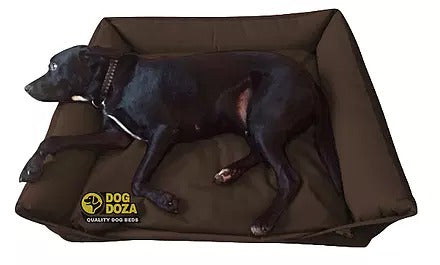 Dog Doza - Waterproof Sofa Bed - Various Sizes Brown, Dog Beds by Low Cost Gifts