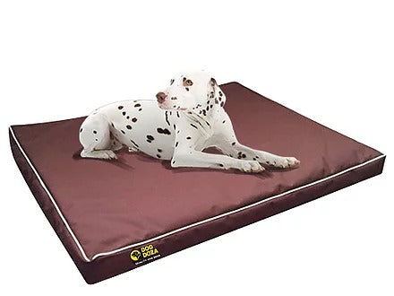 Dog Doza - Waterproof Snooza Crash Pad - ideal for the back of the car / 4x4 - Various Sizes Brown, Dog Beds by Low Cost Gifts