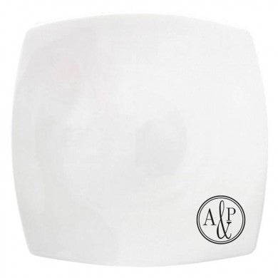 "Monogram Circle 10"" Signature Plate - Shane Todd Gifts UK"