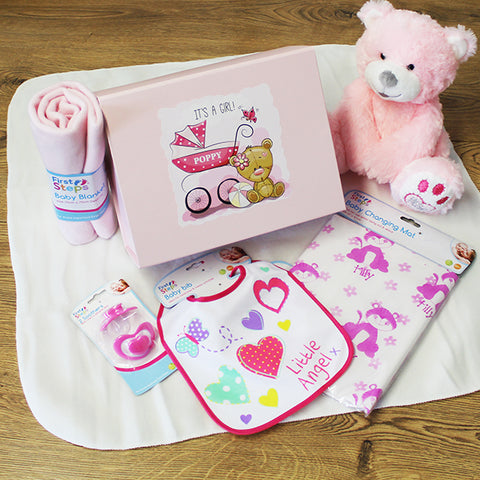 New Baby Gift Box For Girls