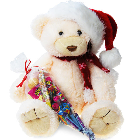 Christmas Sweetie Bear White
