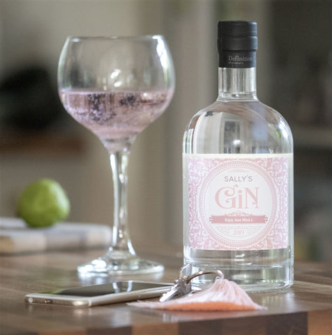Personalised Blush Gin