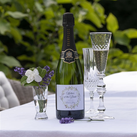 Personalised Wedding Party Champagne