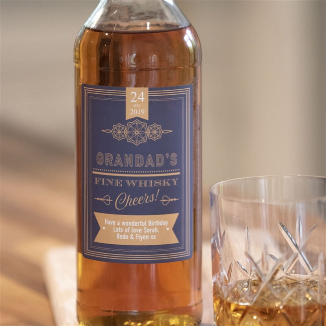 Personalised Cheers Whisky, Whisky by Low Cost Gifts
