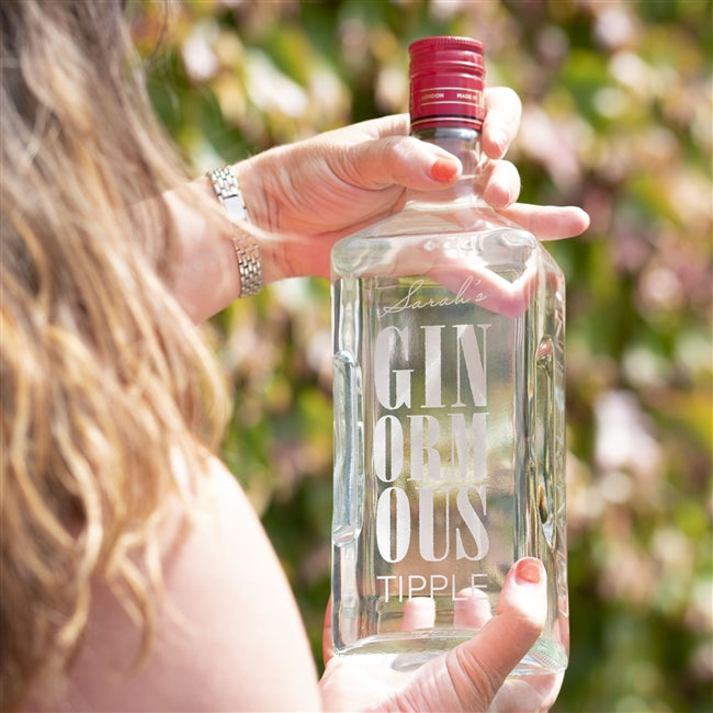 Personalised 1.5 litres Ginormous Gin, Alcoholic Beverages by Gifts24-7