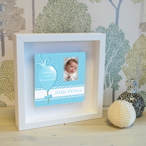 Shadow Frame with 3D Metal Artwork - Little Prince | Gifts24-7.co.uk