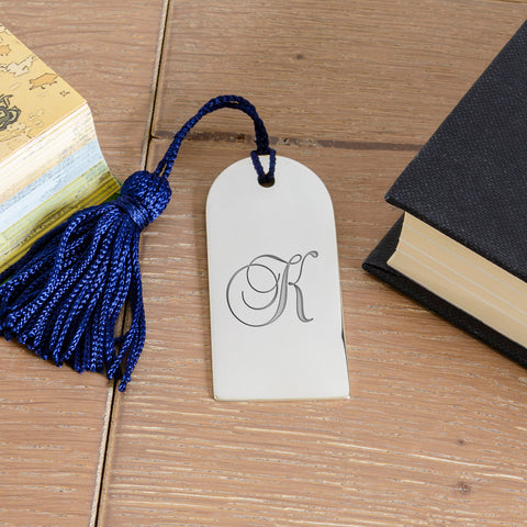Arch Bookmark with Initial