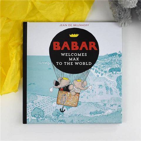 Personalised Babar Welcomes you to the World | Gifts24-7.co.uk