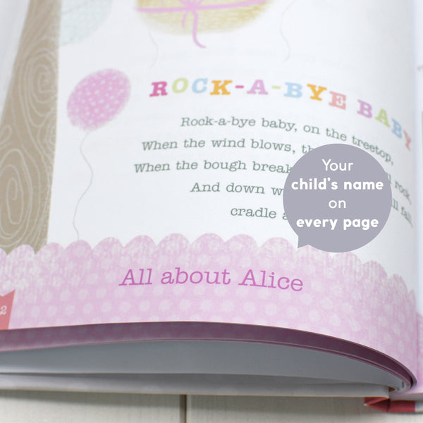 Personalised Baby Record Book with Plush Elephant