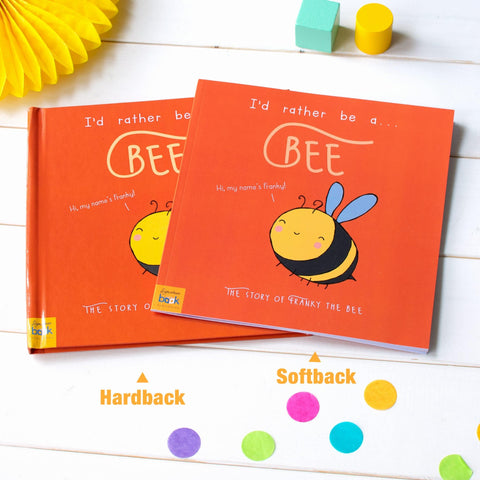 I'd Rather Be A Bee – Personalised Storybook